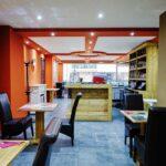vernieuwde inrichtng bij pizzeria La Duna te Bredene